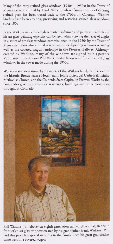 Phil Watkins covered wagon
