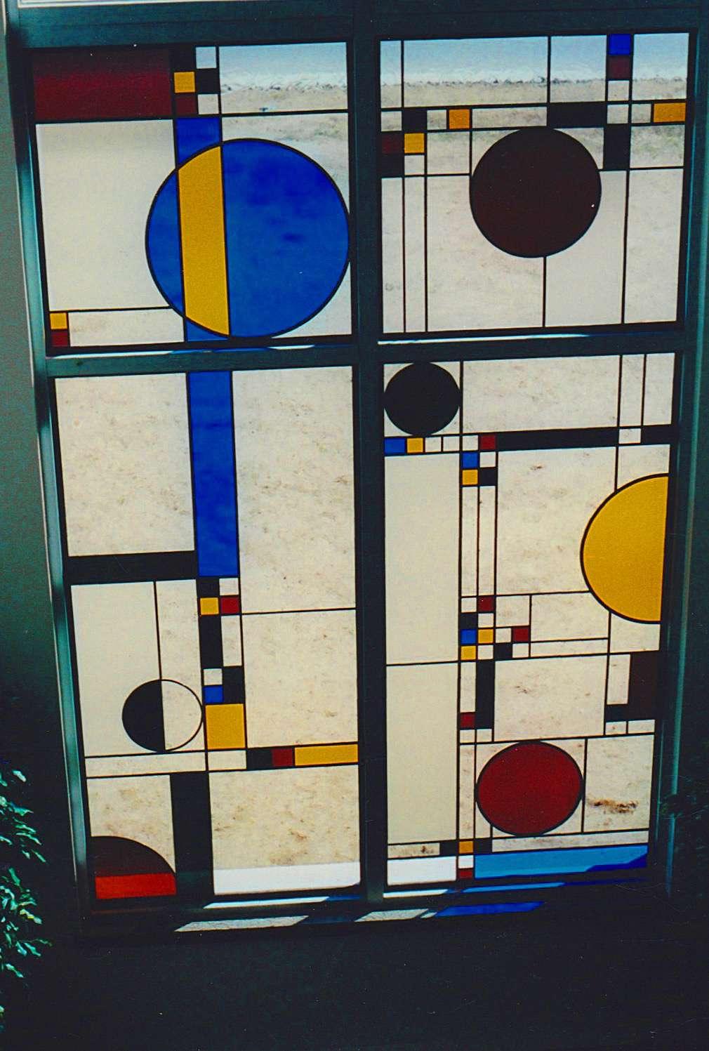 Courthouse window