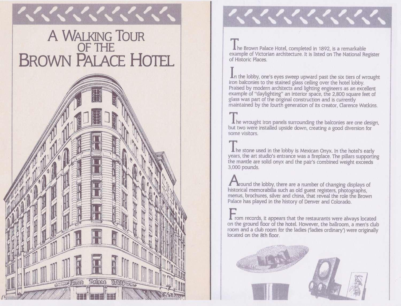 Brown Palace Hotel Skylight