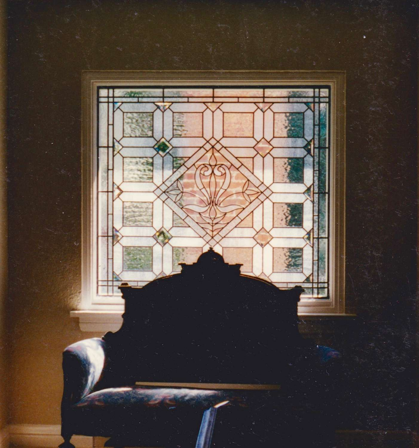 English Castle window