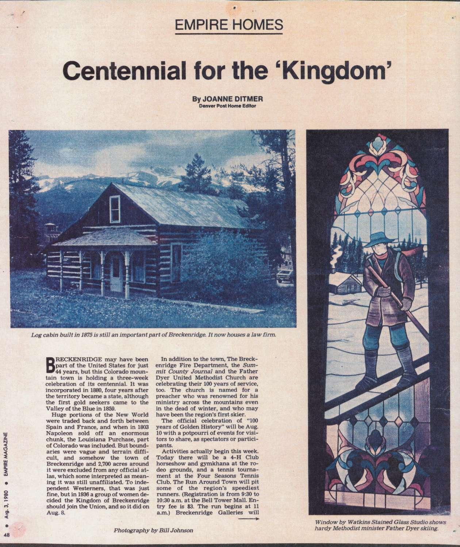 Centennial for the 'Kingdom'