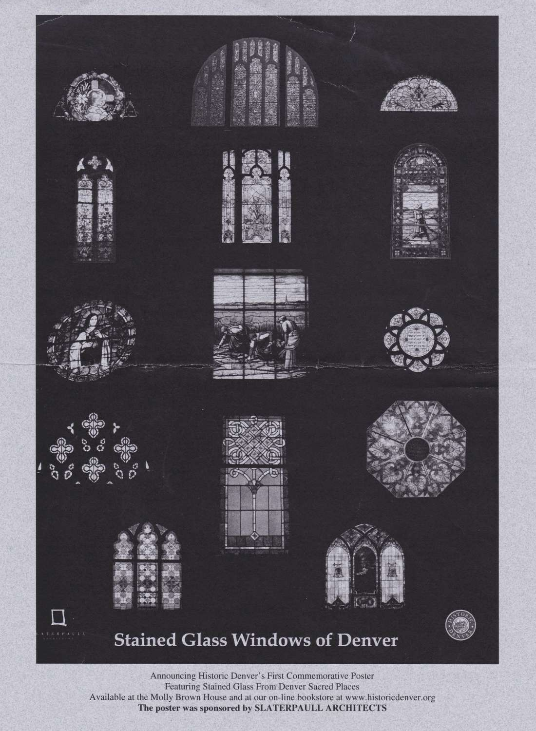 Stained Glass poster