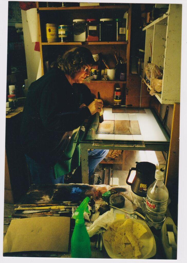 Joan painting