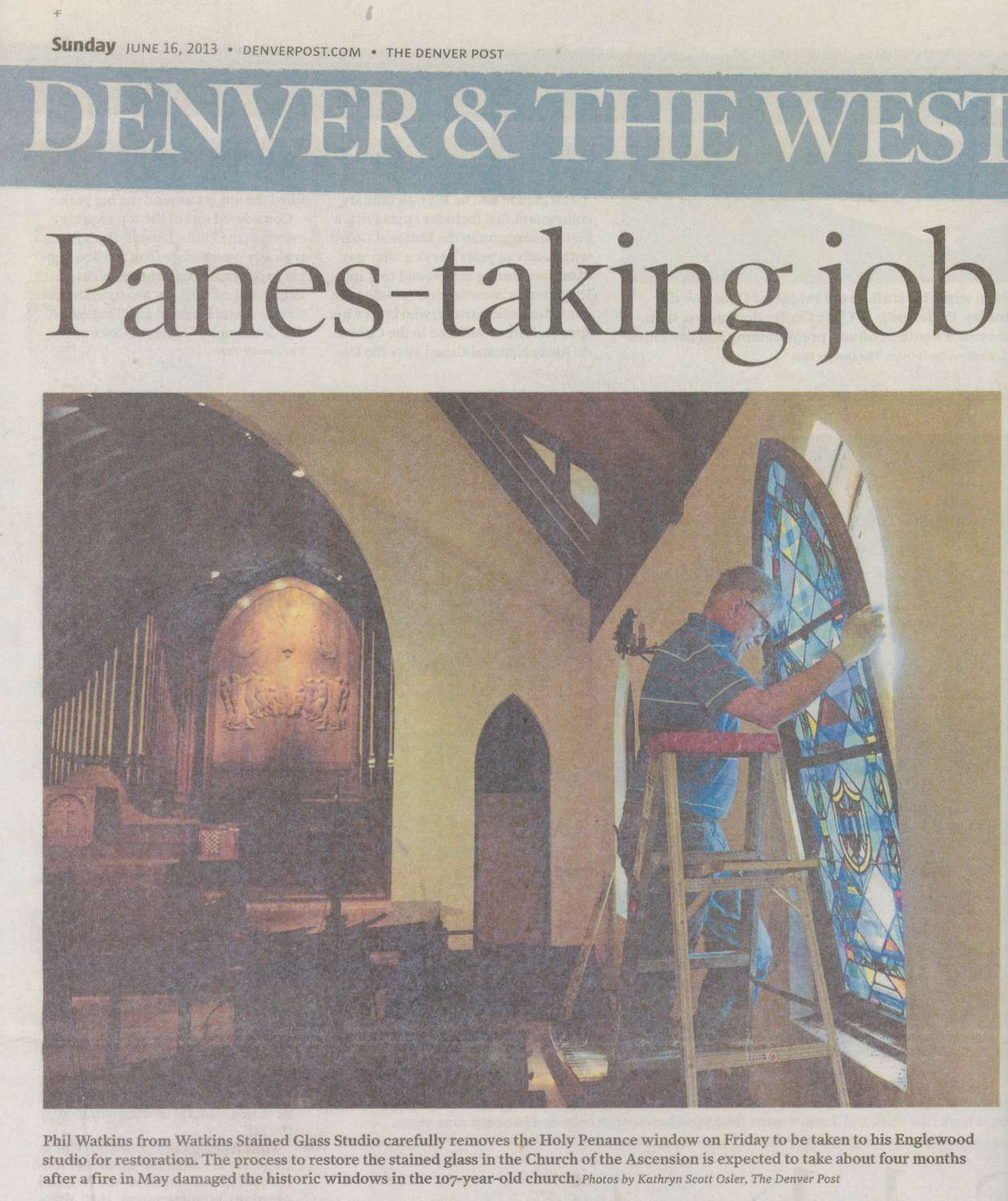 The Denver post job article