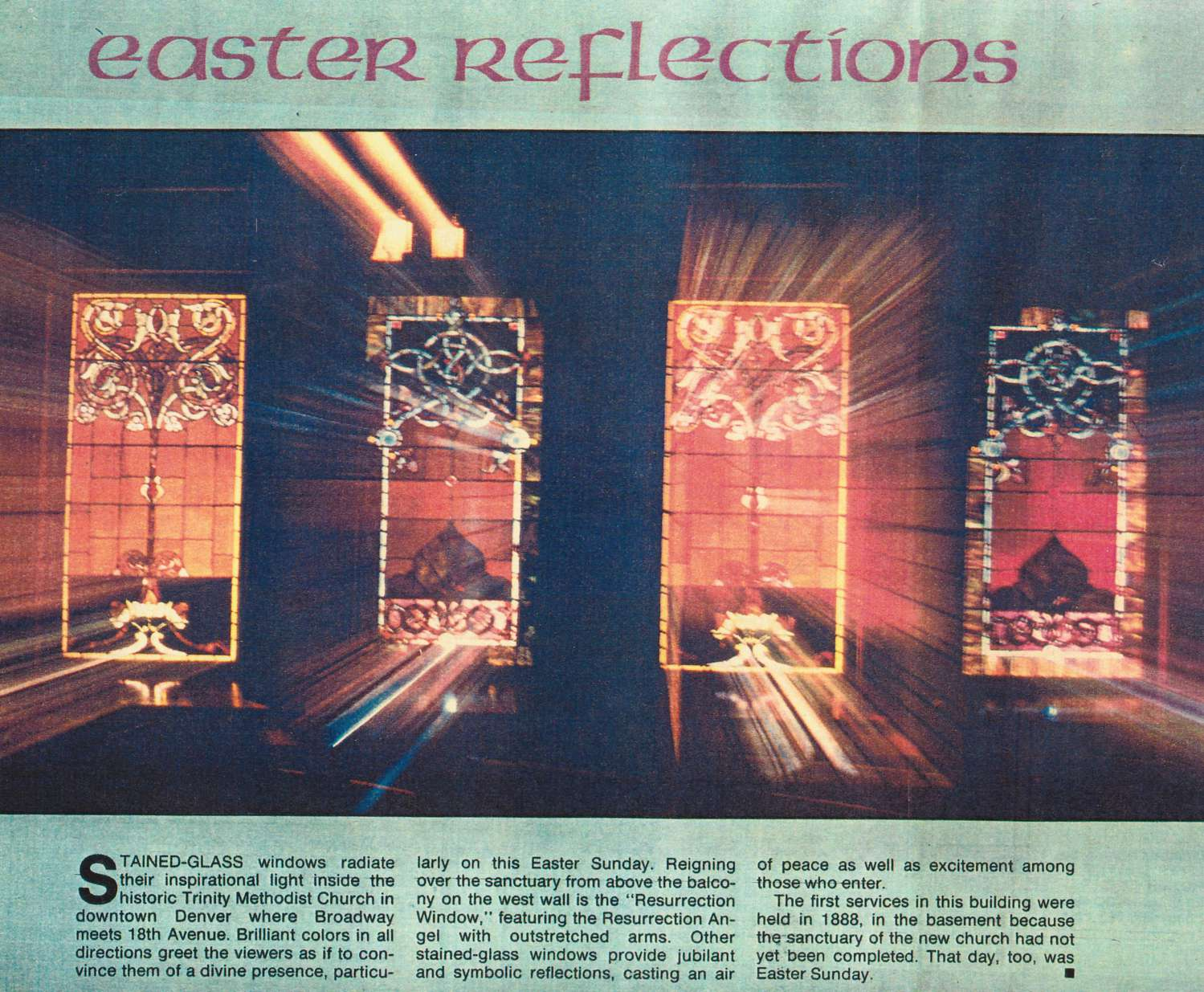 Easter Reflections