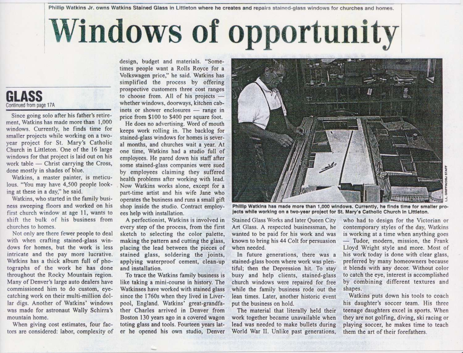 Windows of opportunity 2