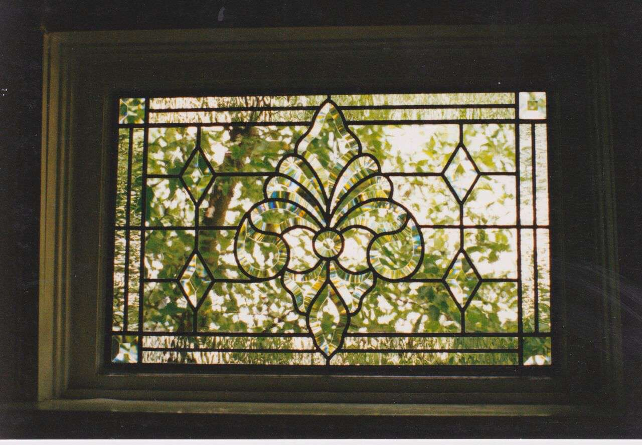 beveled window