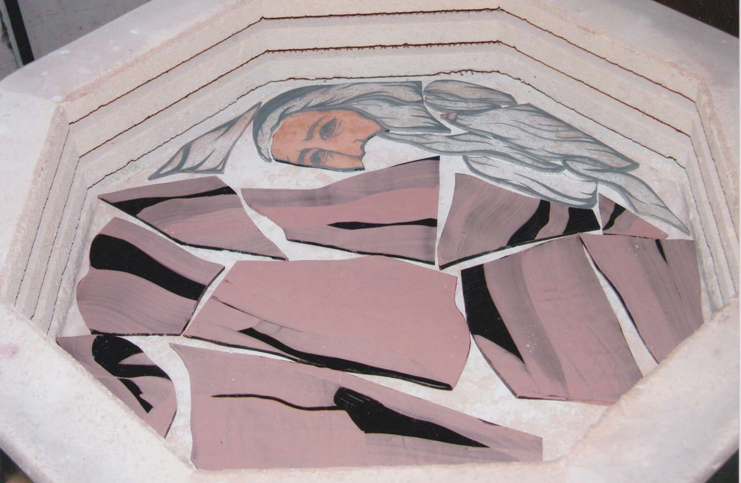 Moses in the kiln