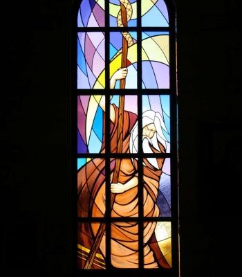 Our Lady Of Loreto Catholic Church Moses Window